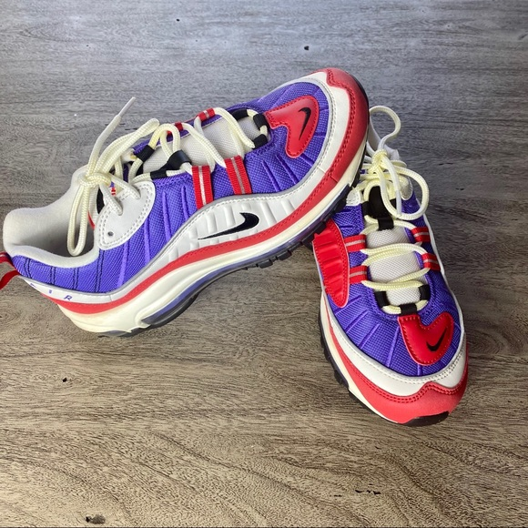 Women's Nike Air Max 98 SE AT6640 100 Casual Shoes